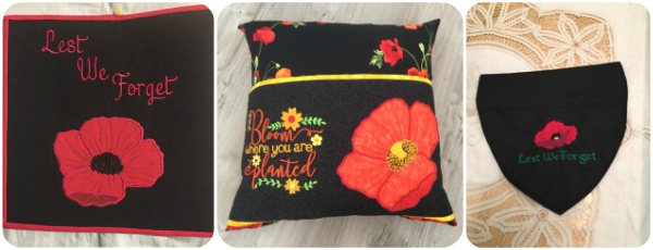 Applique Poppy