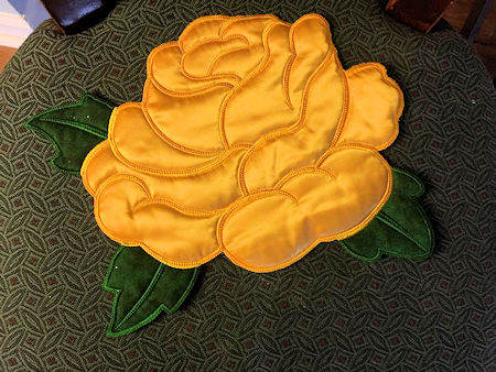 Large Applique Rose