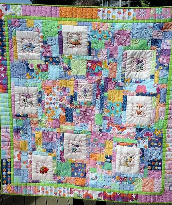Janet beautiful Quilt
