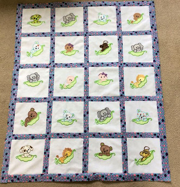 jeannie Free Pea Pod Quilt