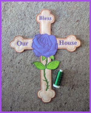 Large Cross Applique