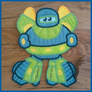 Large Robot Applique