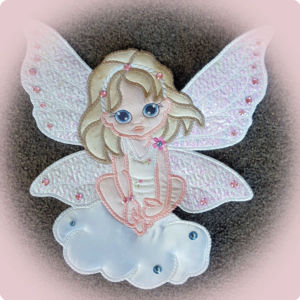 Large Angel Applique