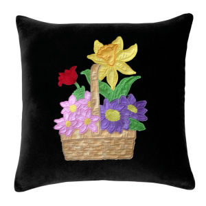 Spring Basket Applique