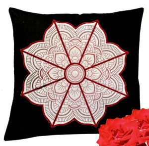 Mandala Applique Machine Embroidery Design