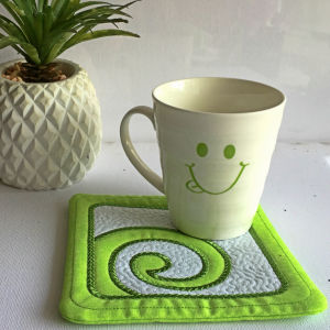 Coaster And Placemat Machine Embroidery Designs