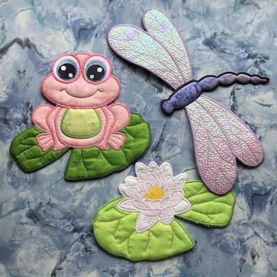 Pondlife Cushion Patterns