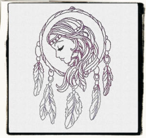 Free Dreamer Machine Embroidery Design