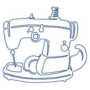 Free Continuous Lines Sewing Machines