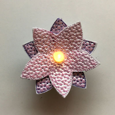 Free Tea Light Candle Cover