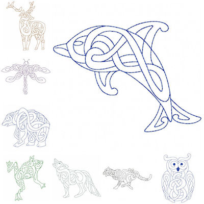 Free Wild Beauty Machine Embroidery Designs