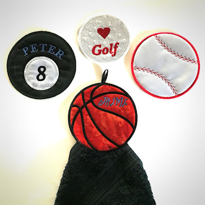 Free In the hoop Sports Ball Coasters