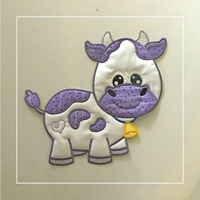 Large Cow Applique