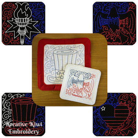 Free 04 July Coasters