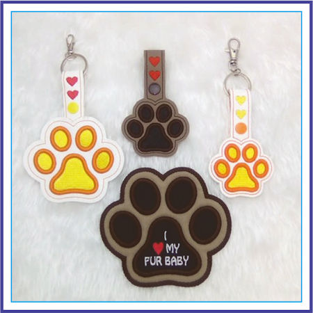 Paws for Thought Key Ring and Coaster