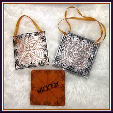 Free Cobweb Coaster and Gift Bag