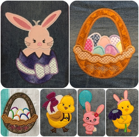 Easter Cuties Applique