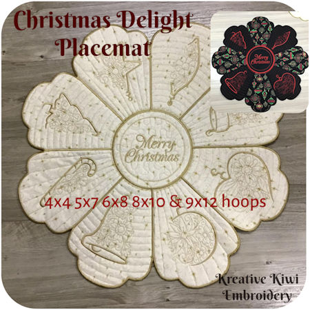 Christmas Delight Placemat