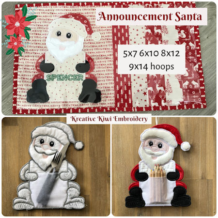 Announcement Santa