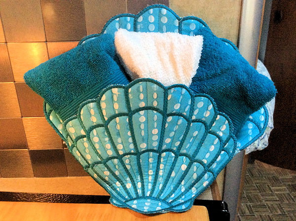 Large Applique Sea Shell