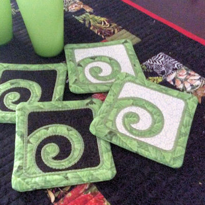 Placemats And Coasters Made From Kiwi Designs Showcase