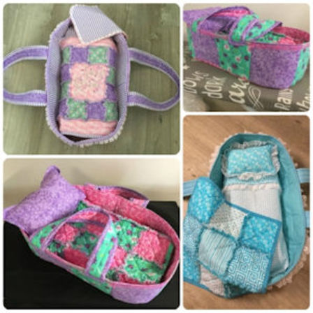 How to make a Dolly Carry Basket