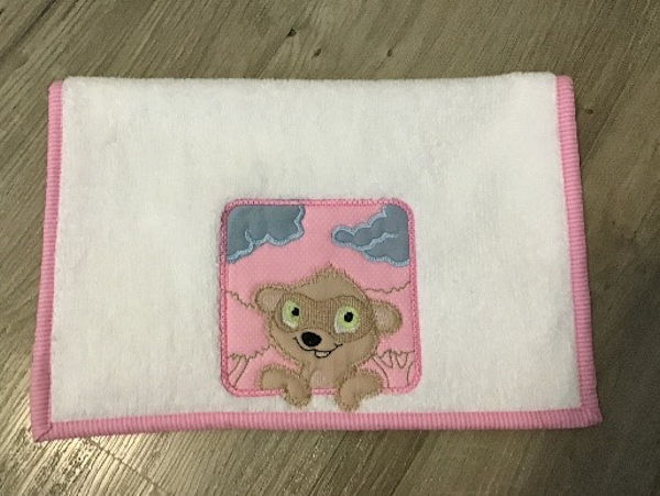 Meer Cat Burp Cloth