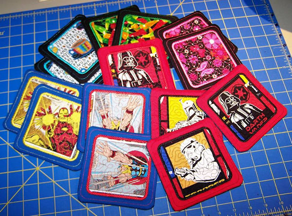 Debra-In-the-hoop Star Wars Coasters