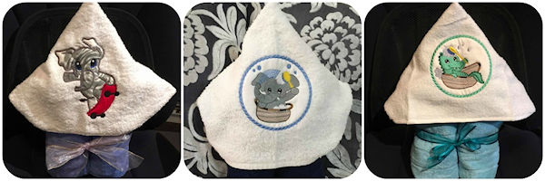HOODED TOWEL SAMPLE