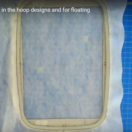 How to hoop Stabilisers for In the hoop projects