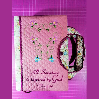 How to add to our Notebook Cover to make a Bible Cover with Straps
