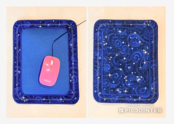 In the hoop Mouse Pad by Jean