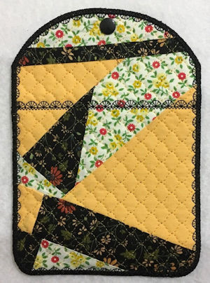Crazy Patch Quilted Bag by Faye