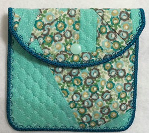 Quilt Bag using Crazy Patch Fabric by Faye