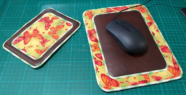 In the hoop Mouse Pad by Nicola