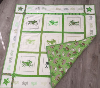How to make a Quick Cuddly Fleece & Flannel Quilt