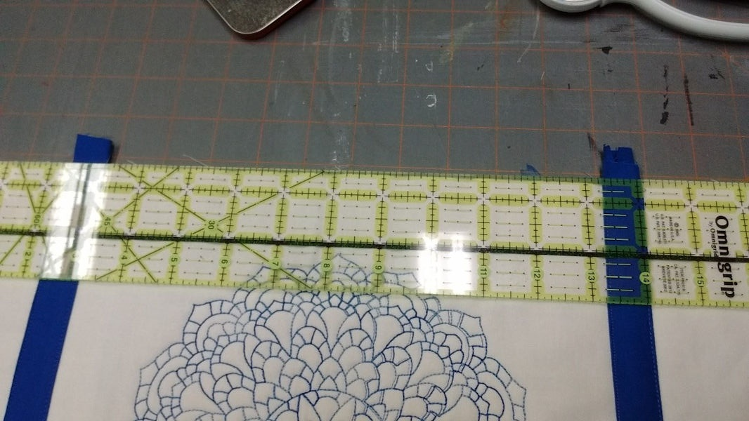 Quilt as you go Table Runner 20a