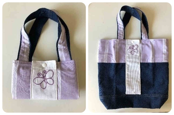 Re-useable Bag with Butterfly