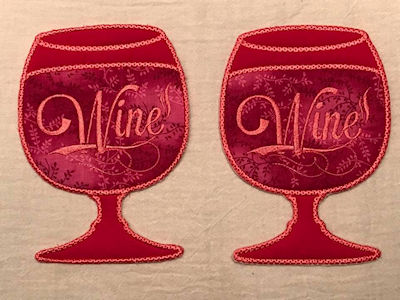 Stephanie Wine Coasters