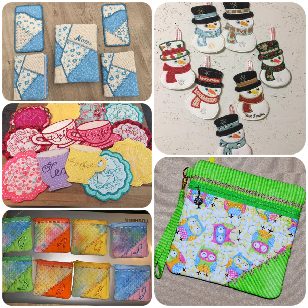 Snowmen and various Coasters by Kreative Kiwi