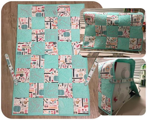 Free Instructions to make Sewing Machine Cover