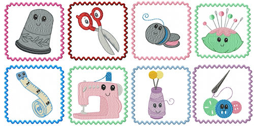 Free Machine Embroidery Sewing Designs