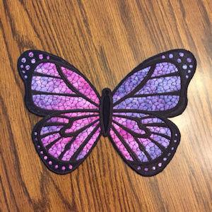 Large Applique Butterfly