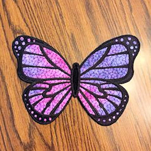 How to make Large Applique Butterfly