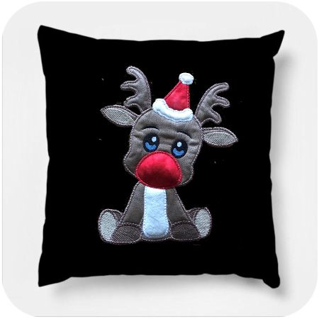 How to make Large Applique Reindeer