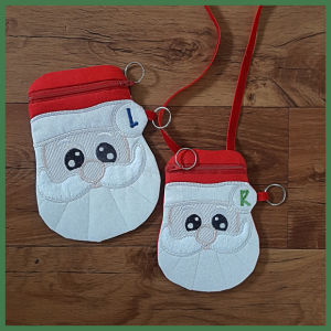 How to make In the hoop Santa Bag
