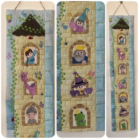 How to make Fairytale Castle Growth Chart