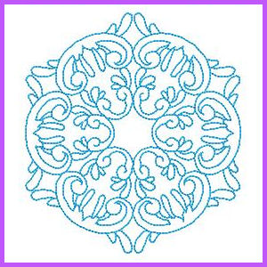 Outline Quilting Machine Embroidery Designs