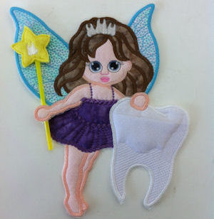 Toothfairy Applique