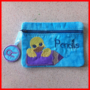 In-the-hoop Pencil Cases